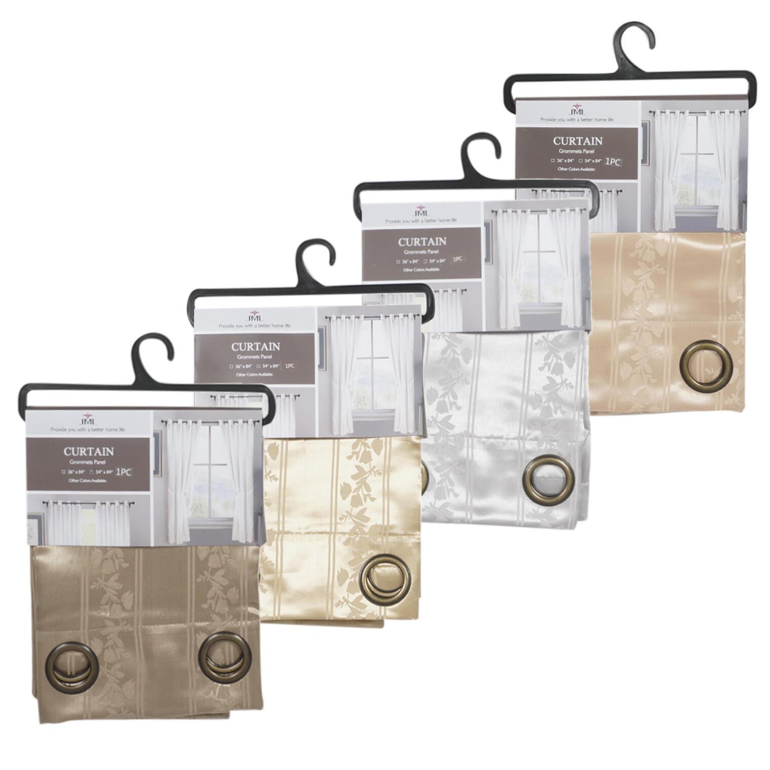 Wholesale Floral Curtain Grommets Panel