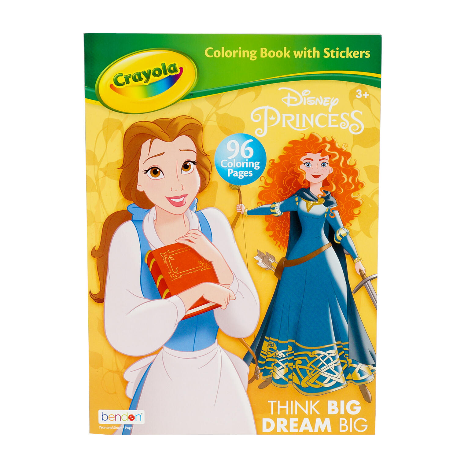 Wholesale 96 Page Disney Princess Coloring Book. MULTICOLOR