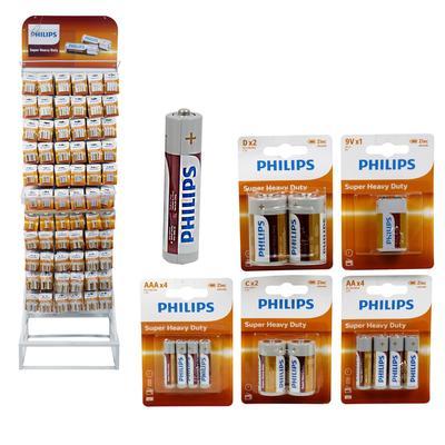 Philips Super Heavy Duty BATTERIES Display