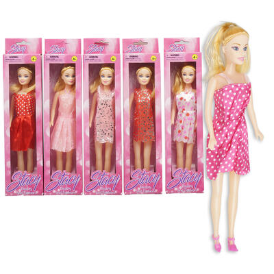 DOLL,11.5''STACY SHORT DRESS AS