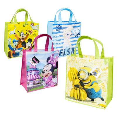 13.5in Reusable Licensed TOTE BAG - Asst
