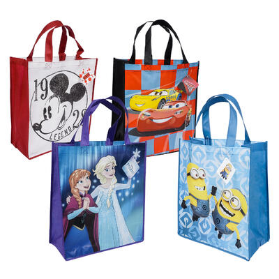 16in Reusable Licensed TOTE BAG - Asst
