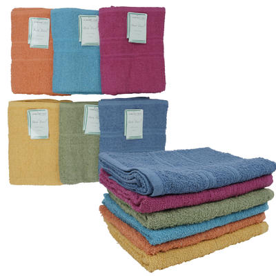Northpoint 25x44in Solid Colored Bath TOWEL - Asst