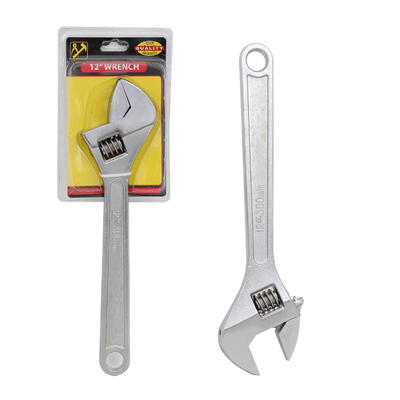 Carbon Steel Adjustable WRENCH - 12''