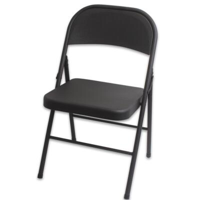 All Steel Cosco Black Foldable CHAIR