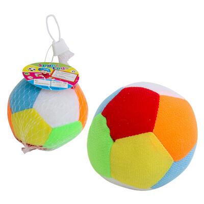 Sport TOYS Rattle Ball - Asst, 4''D